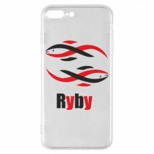 Etui na iPhone 8 Plus Znak zodiaku Ryby