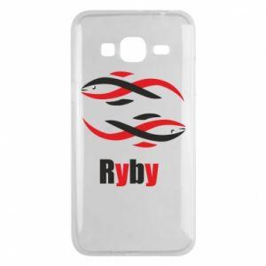 Etui na Samsung J3 2016 Znak zodiaku Ryby
