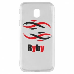 Etui na Samsung J3 2017 Znak zodiaku Ryby