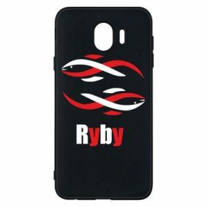 Etui na Samsung J4 Znak zodiaku Ryby