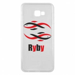 Etui na Samsung J4 Plus 2018 Znak zodiaku Ryby