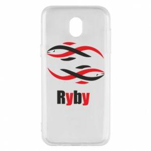 Etui na Samsung J5 2017 Znak zodiaku Ryby