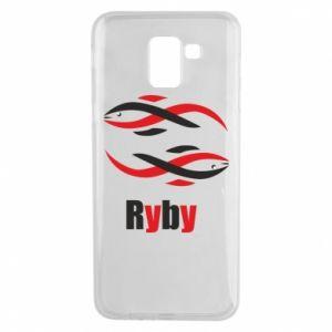 Etui na Samsung J6 Znak zodiaku Ryby