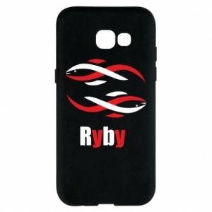 Etui na Samsung A5 2017 Znak zodiaku Ryby