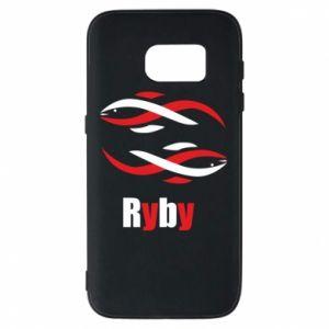 Etui na Samsung S7 Znak zodiaku Ryby
