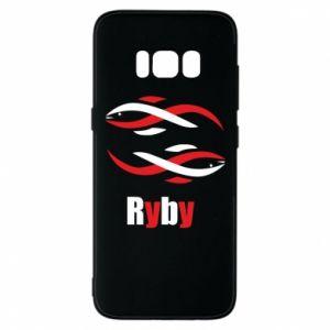 Etui na Samsung S8 Znak zodiaku Ryby