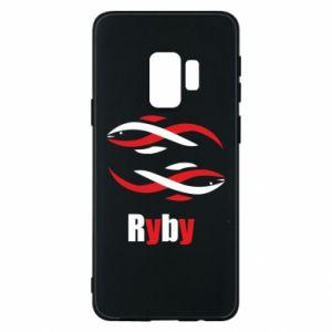Etui na Samsung S9 Znak zodiaku Ryby