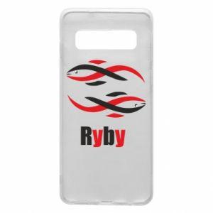 Etui na Samsung S10 Znak zodiaku Ryby