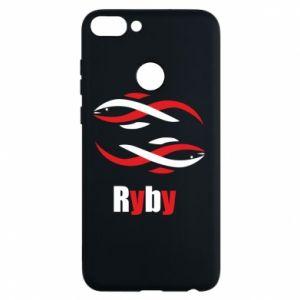 Etui na Huawei P Smart Znak zodiaku Ryby