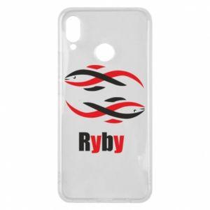 Etui na Huawei P Smart Plus Znak zodiaku Ryby
