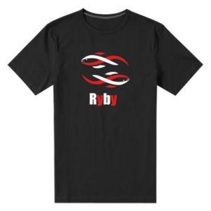 Męska premium koszulka Znak zodiaku Ryby