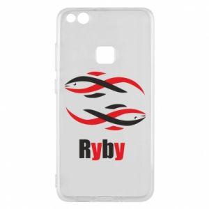 Etui na Huawei P10 Lite Znak zodiaku Ryby