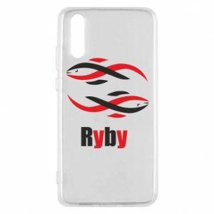 Etui na Huawei P20 Znak zodiaku Ryby