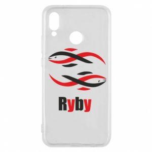 Etui na Huawei P20 Lite Znak zodiaku Ryby