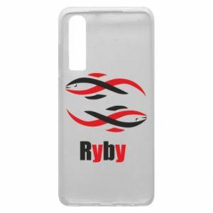 Etui na Huawei P30 Znak zodiaku Ryby