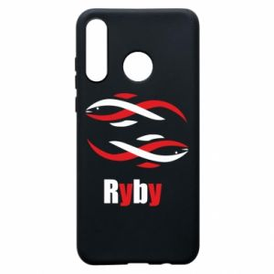 Etui na Huawei P30 Lite Znak zodiaku Ryby