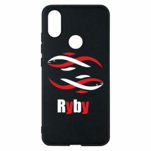 Etui na Xiaomi Mi A2 Znak zodiaku Ryby