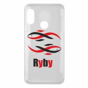 Etui na Mi A2 Lite Znak zodiaku Ryby