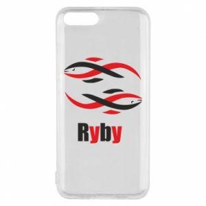 Etui na Xiaomi Mi6 Znak zodiaku Ryby