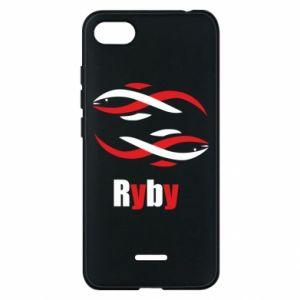 Etui na Xiaomi Redmi 6A Znak zodiaku Ryby