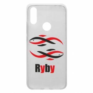 Etui na Xiaomi Redmi 7 Znak zodiaku Ryby