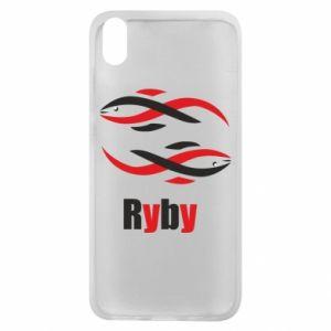 Etui na Xiaomi Redmi 7A Znak zodiaku Ryby