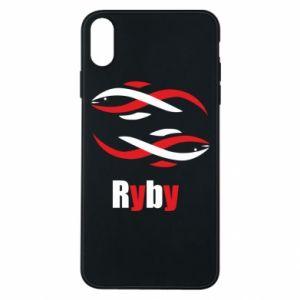 Etui na iPhone Xs Max Znak zodiaku Ryby