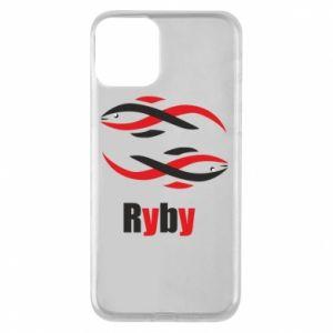 Etui na iPhone 11 Znak zodiaku Ryby