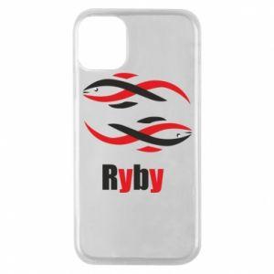 Etui na iPhone 11 Pro Znak zodiaku Ryby
