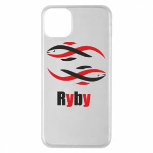 Etui na iPhone 11 Pro Max Znak zodiaku Ryby