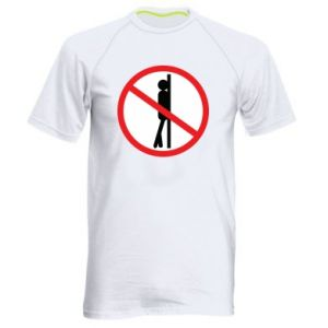 Męska koszulka sportowa Znak - PrintSalon