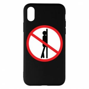 Phone case for iPhone X/Xs Sign