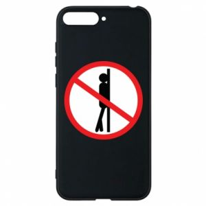 Phone case for Huawei Y6 2018 Sign