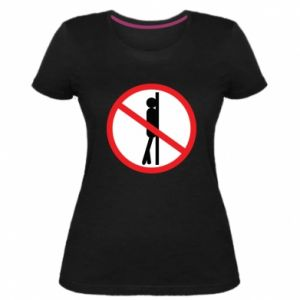 Damska premium koszulka Znak - PrintSalon