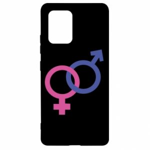 """Samsung S10 Lite Case The signs """"He"""" and """"She"""" are connected"""