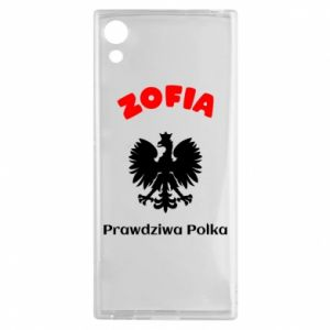 Phone case for Samsung A70 Sophie is a real Pole - PrintSalon