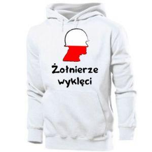 Men's hoodie Cursed soldiers - flag of Poland - PrintSalon