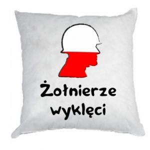 Pillow Cursed soldiers - flag of Poland