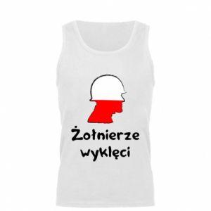 Men's t-shirt Cursed soldiers - flag of Poland - PrintSalon
