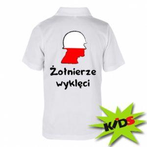 Children's Polo shirts Cursed soldiers - flag of Poland - PrintSalon