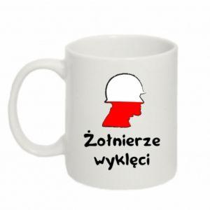 Mug 330ml Cursed soldiers - flag of Poland