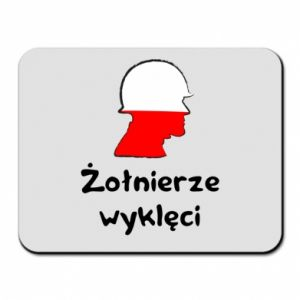 Mouse pad Cursed soldiers - flag of Poland