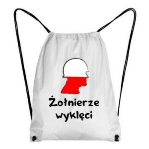 Plecak-worek Żołnierze wyklęci - flaga Polski