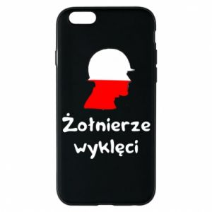 Phone case for iPhone 6/6S Cursed soldiers - flag of Poland - PrintSalon