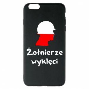 Phone case for iPhone 6 Plus/6S Plus Cursed soldiers - flag of Poland - PrintSalon