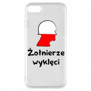 Phone case for iPhone 7 Cursed soldiers - flag of Poland - PrintSalon