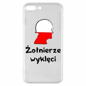 Phone case for iPhone 7 Plus Cursed soldiers - flag of Poland - PrintSalon