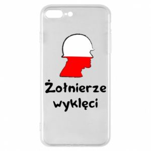 Phone case for iPhone 8 Plus Cursed soldiers - flag of Poland - PrintSalon