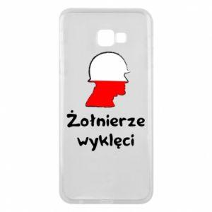 Phone case for Samsung J4 Plus 2018 Cursed soldiers - flag of Poland - PrintSalon