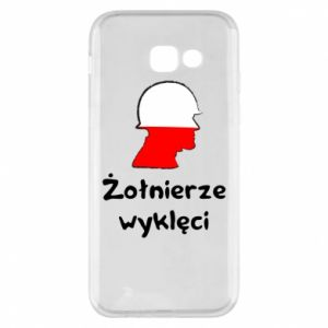 Phone case for Samsung A5 2017 Cursed soldiers - flag of Poland - PrintSalon